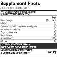 Extrifit Arginine AKG 1000 mg, 100 kapslí - Anabolizér