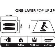 Campgo One-Layer Pop Up 2P - Stan