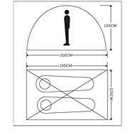 Campgo One-Layer Dome 2P - Stan