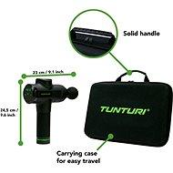 Tunturi Massage Gun - Masážní pistole