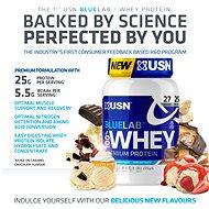USN BlueLab 100% Whey Premium Protein, 2000g, jahoda - Protein