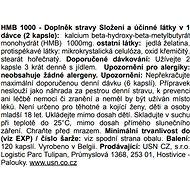 USN HMB 1000, 120 tablet - Anabolizér