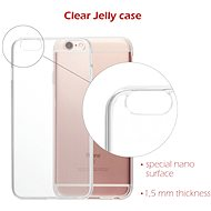 Swissten Clear Jelly pro Apple iPhone 12 Pro Max - Kryt na mobil