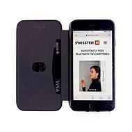 Swissten Shield book Samsung Galaxy A10 černé - Pouzdro na mobil