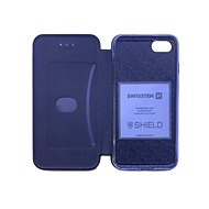 Swissten Shield book Samsung Galaxy A50 černé - Pouzdro na mobil