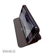 Swissten Shield book Samsung Galaxy A51 černé - Pouzdro na mobil