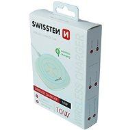 Swissten bezdrátová nabíječka 10W bílá - Bezdrátová nabíječka