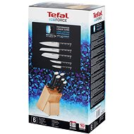 Tefal ICE FORCE sada nožů 5 ks + dřevěný blok K232S574 - Sada nožů