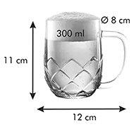 TESCOMA myBEER Lupulus 0,3l - Sklenice na pivo