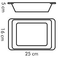 TESCOMA Zapékací mísa obdélníková GUSTO 25 x 16 cm - Zapékací mísa