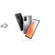 Tempered Glass Protector Rámečkové pro Xiaomi Mi 10T Lite, Černé - Ochranné sklo