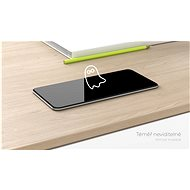 Tempered Glass Protector pro iPhone 12 / 12 Pro, 3D Case Friendly, Černé + sklo na kameru - Ochranné sklo