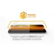 Tempered Glass Protector pro iPhone 11 - 3D Case Friendly, Černé + sklo na kameru - Ochranné sklo