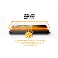 Tempered Glass Protector Rámečkové pro Samsung Galaxy S21+, Černé + sklo na kameru - Ochranné sklo