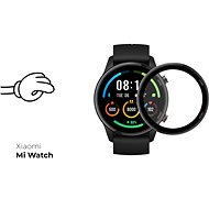 Tempered Glass Protector pro Xiaomi Mi Watch - 3D GLASS, černé - Ochranné sklo