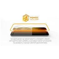 Tempered Glass Protector Rámečkové pro Samsung Galaxy A72, černé + sklo na kameru - Ochranné sklo