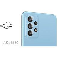 Tempered Glass Protector 0.3mm pro Samsung Galaxy A52 5G / A52 + sklo na kameru (Case Friendly) - Ochranné sklo