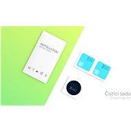 Tempered Glass Protector Antibacterial pro Xiaomi Poco X3 Pro, Černé + sklo na kameru - Ochranné sklo