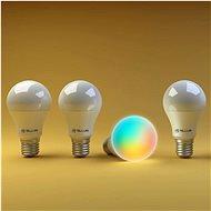 WiFi Smart RGB žárovka E27, 10 W, bílá, teplá bílá - LED žárovka