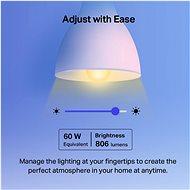 TP-LINK Tapo L530E, Smart WiFi žárovka barevná - LED žárovka