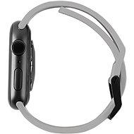 UAG Scout Strap Silver Apple Watch 6/SE/5/4/3/2/1 44/42mm - Řemínek