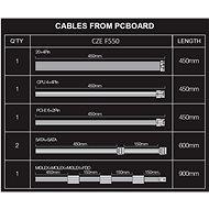 EVOLVEO FX 550 80Plus 550W - Počítačový zdroj