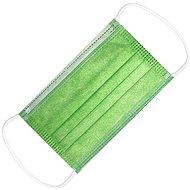 RespiLAB Dětské jednorázové  roušky - Zelené  (10ks) - Ústenka