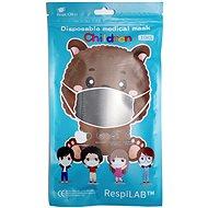 RespiLAB Dětské jednorázové  roušky - Zvířátka  (10ks) - Ústenka