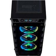 Corsair iCUE 465X RGB Tempered Glass černá - Počítačová skříň