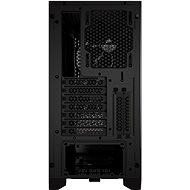 Corsair 4000D AIRFLOW Tempered Glass Black - Počítačová skříň