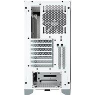 Corsair 4000D AIRFLOW Tempered Glass White - Počítačová skříň