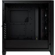 Corsair iCUE 4000X RGB Tempered Glass Black - Počítačová skříň
