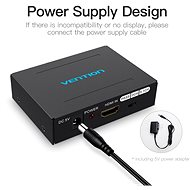 Vention HDMI Audio Segregator Black Metal Type - Adaptér