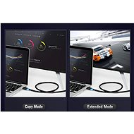 Vention HDMI 2.0 High Quality Cable 2m Black - Video kabel