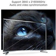 Vention DisplayPort (DP) Cable 2m Black - Video kabel