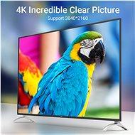 Vention Mini DisplayPort to DisplayPort (DP) Cable 2m Black - Video kabel