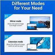 Vention 4K DisplayPort (DP) to HDMI Cable 1.5M Black - Video kabel
