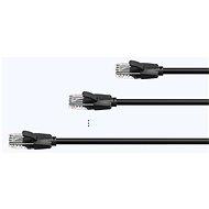 Vention Cat.6 UTP Patch Cable 10M Black - Síťový kabel