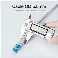 Vention CAT5e UTP Patch Cord Cable 15m Blue - Síťový kabel