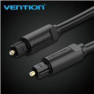 Vention Optical Fiber Toslink Audio Cable 1m Black - Audio kabel