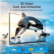 Vention HDMI 2.1 Cable 8K Nylon Braided 3m Black Metal Type - Video kabel