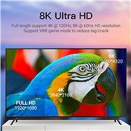 Vention Optical HDMI 2.1 Cable 8K 15m Black Metal Type - Video kabel