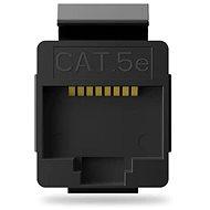 Vention Cat.5E UTP Modular Jack Black - Keystone