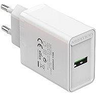 Vention 1-port USB Wall Quick Charger (18W) White - Nabíječka do sítě