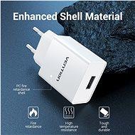 Vention USB Wall Charger 12W White - Nabíječka do sítě