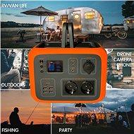 Viking AC600 oranžová - Nabíjecí stanice