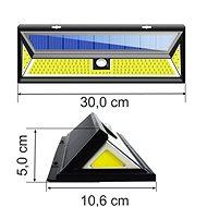 Viking venkovní solární LED světlo s pohybovým senzorem V80180 - Venkovní světlo