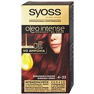 SYOSS Oleo Intense 4-23 Burgundská červeň 50 ml - Barva na vlasy