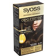 SYOSS Oleo Intense 3-10 Tmavě hnědý 50 ml - Barva na vlasy