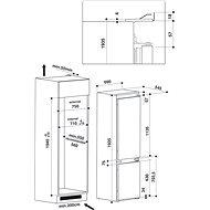 WHIRLPOOL SP40 802 EU 2 - Vestavná lednice